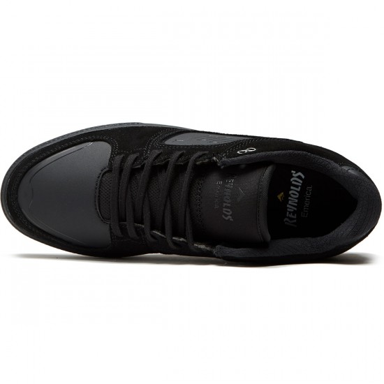 Emerica Reynolds G6 Shoes - Black/Black/Gum - 8.0