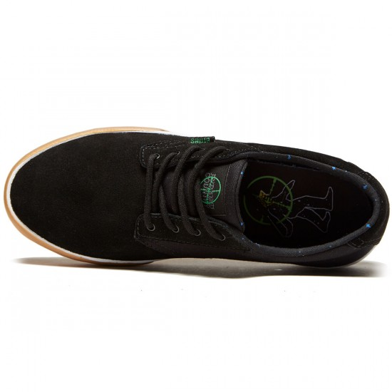Etnies X Pyramid Country Jameson HT Shoes - Black/Green - 10.0