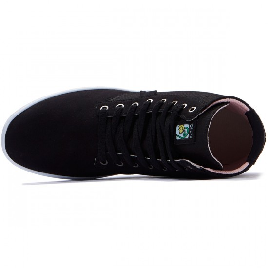 Etnies Jameson HT Shoes - Black/White/Gum - 7.0