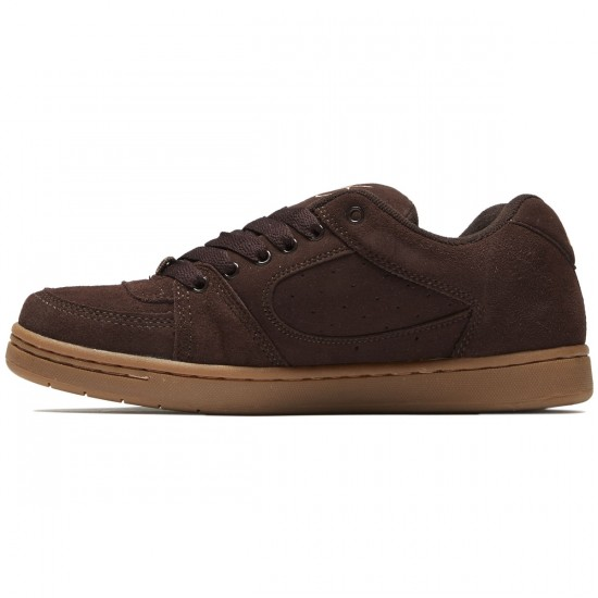 eS Accel OG Shoes - Chocolate/Gum - 8.0