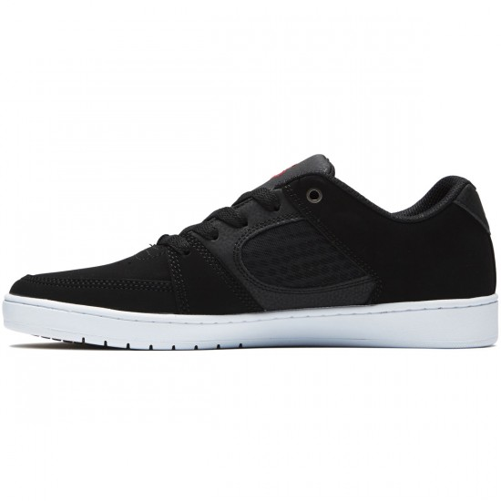 eS Accel Slim Shoes - Black/White/Red - 8.0