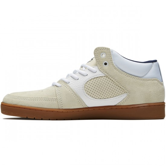 eS Accel Slim Mid Shoes - White/Gum