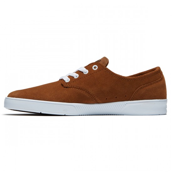 Emerica The Romero Laced Shoes - Brown/White/Gum