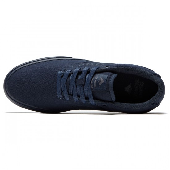 Emerica The Reynolds Low Vulc Shoes - Navy/Navy/Grey - 9.0
