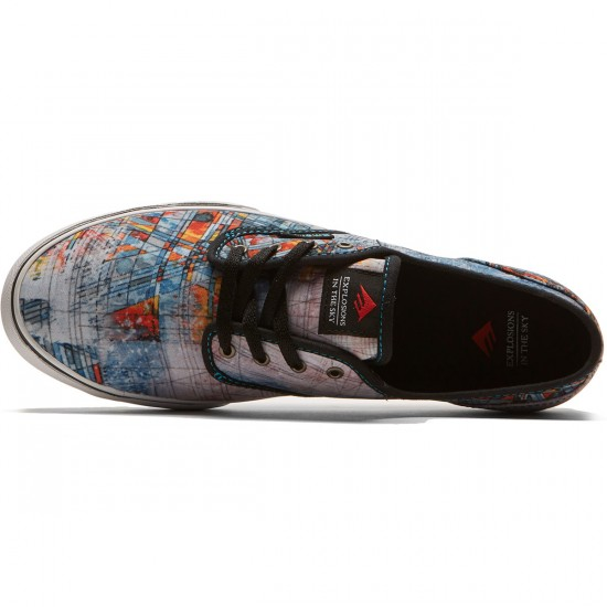 Emerica X EITS Wino Cruiser Shoes - White/Print - 8.5