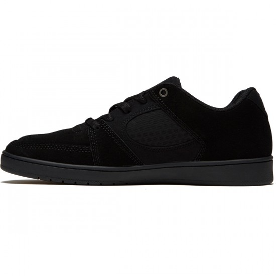 eS X Tres Accel Slim Shoes - Black/Black - 10.0