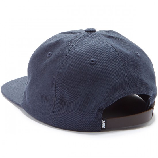 Obey Bunt 6 Panel Hat - Navy