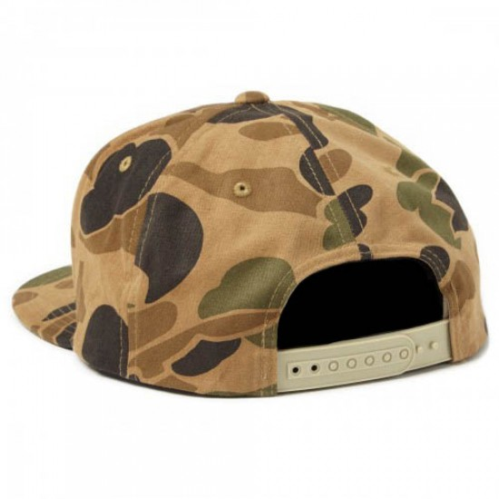 Obey Downtown Snapback Hat - Bubble Camo