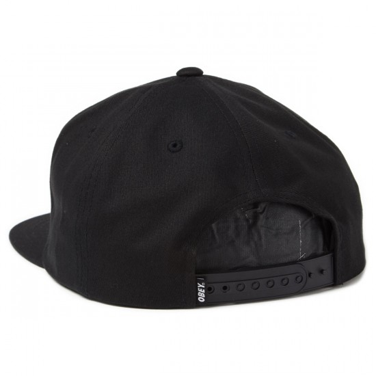 Obey Since 1989 Snapback Hat - Black