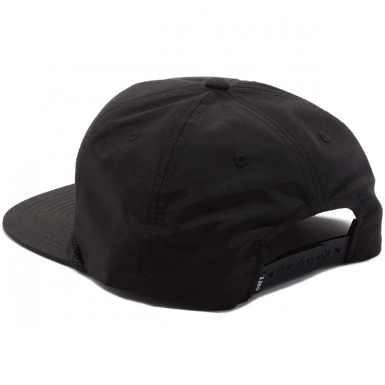 Obey Life Is Hell Snapback Hat - Black