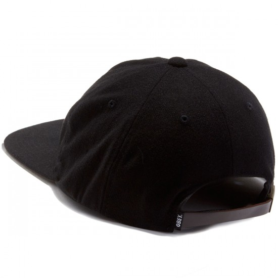 Obey Afton 6 Panel Hat - Black