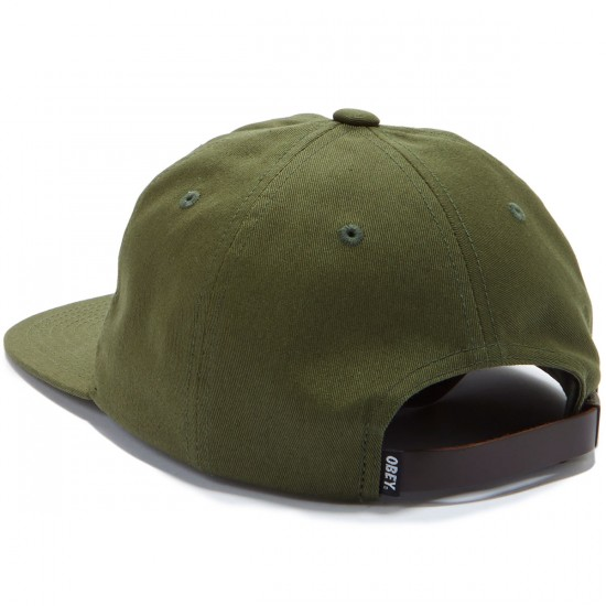 Obey Bunt 6 Panel Hat - Army