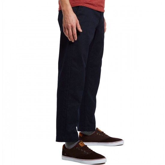 Obey Straggler Flooded Pants - Midnight - 30 - 32