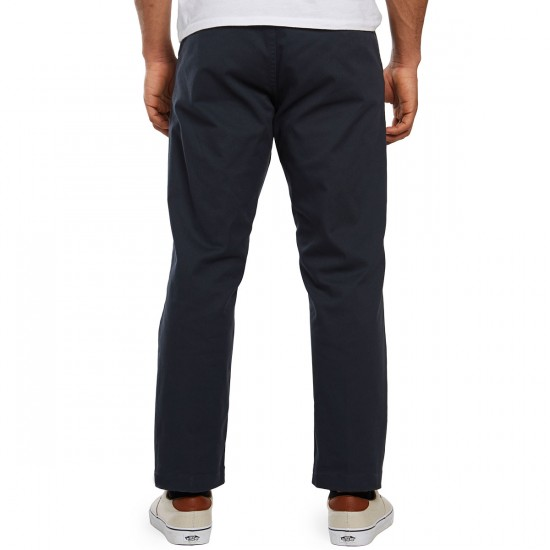 Obey Straggler Flooded Pants - Dark Ink - 30 - 32