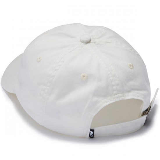 Obey Lemont 6 Panel Hat - Off White