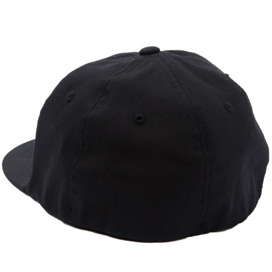 Obey Russell Flexfit Hat - Black