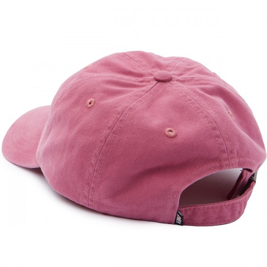Obey Party Vibes 6 Panel Hat - Dusty Red