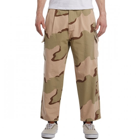 Obey Fubar Big Fits Cargo Pants - Desert Camo - 30 - 32