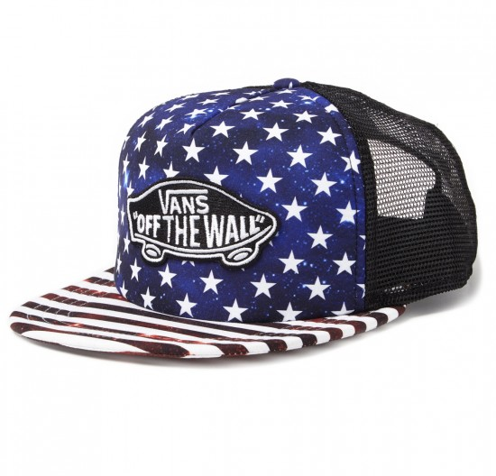 Vans Classic Patch Trucker Plus Hat - Americana