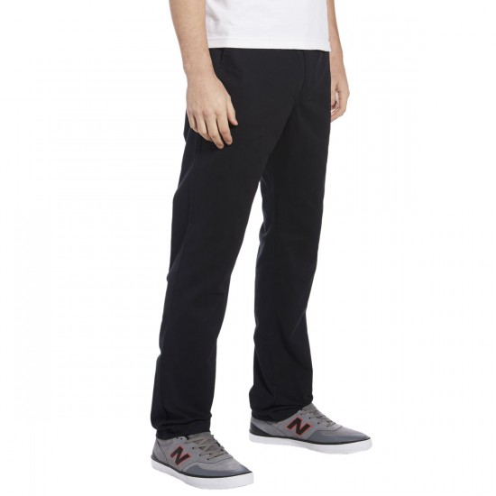 Vans Excerpt Chino Pants - Black - 33 - 32