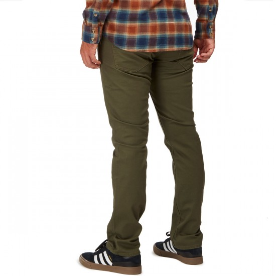 Volcom Vorta Twill Fall 2016 Pants - Military - 30 - 32