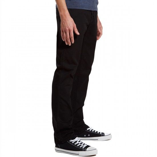 Volcom VSM Gritter Slim Chino Pants - Black - 30 - 32
