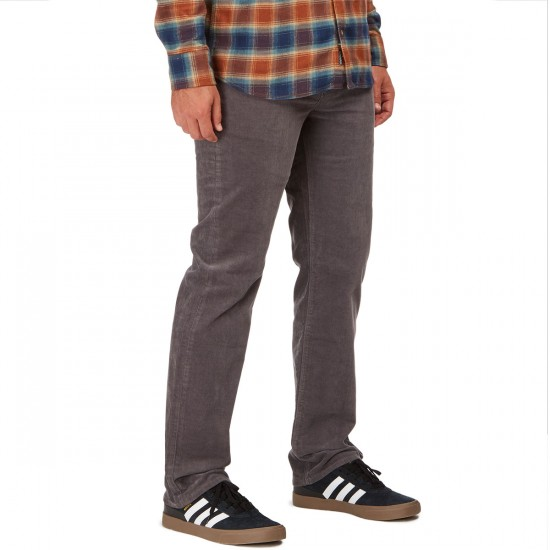 Volcom Solver Cord Pants - Pewter - 30 - 32
