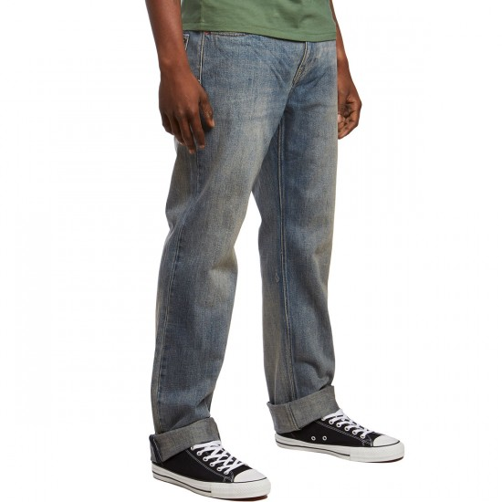 Volcom Kinkade Denim Pants - Jah - 30 - 32