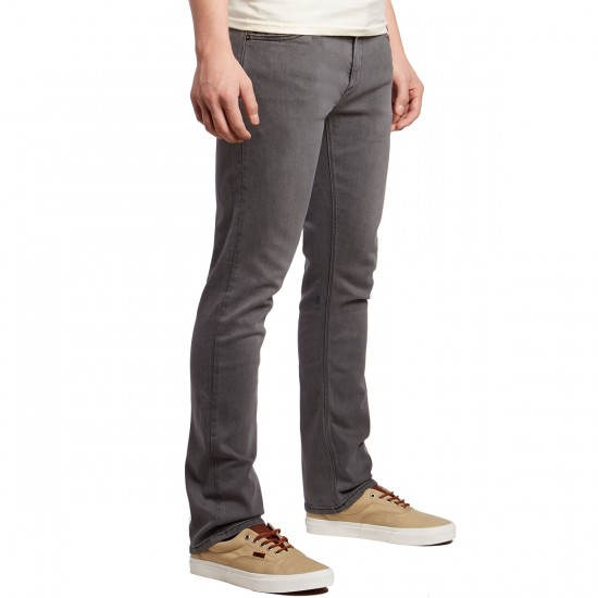 Volcom Vorta Jeans - Brushed Nickel - 36 - 32