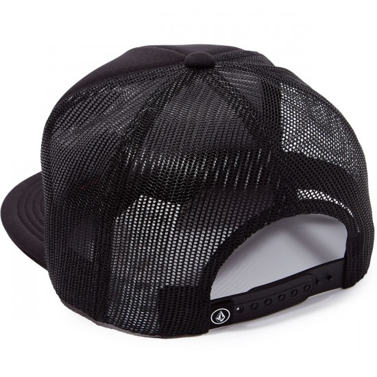 Volcom Bad Brad Cheese Hat - Black
