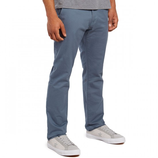 Volcom Frickin Slim Chino Pants - Ash Blue - 30 - 32