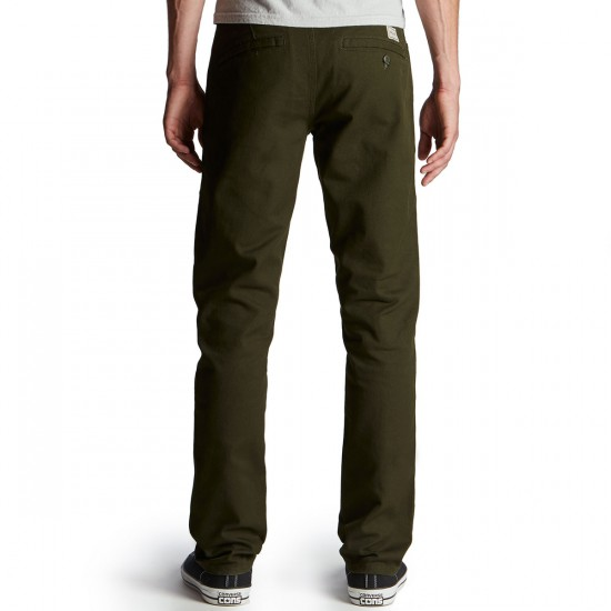 Volcom VSM Gritter Slim Chino Pants - Dark Green