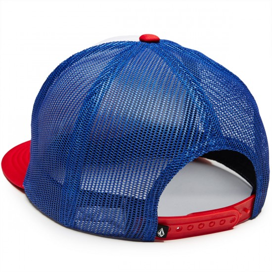 Volcom Spangler Cheese Hat - True Blue