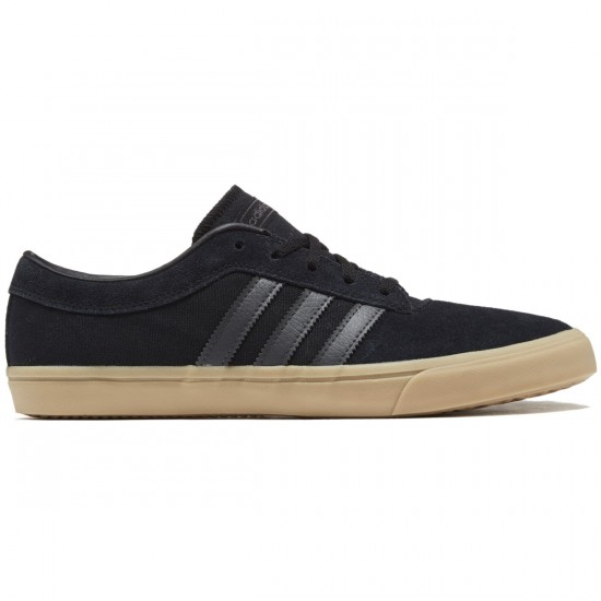 Adidas Sellwood Shoes - Black/Grey/Gum - 8.0