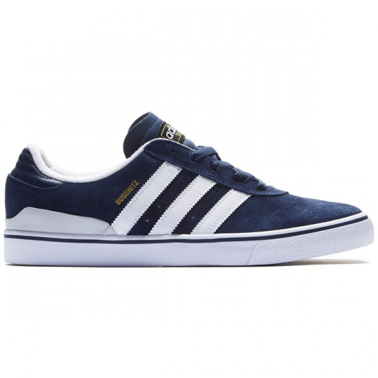 Adidas Busenitz Vulc Adv Shoes - Navy/Grey/White - 7.0