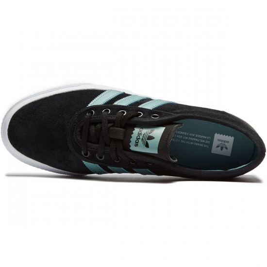 Adidas adi Ease Shoes - Black/Vapour Steel/White - 8.0