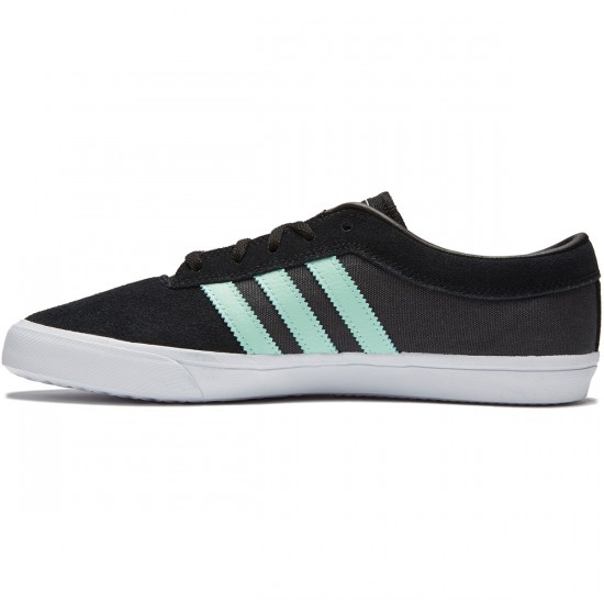 Adidas Sellwood Shoes - Black/Ice Green/Solid Grey - 8.0
