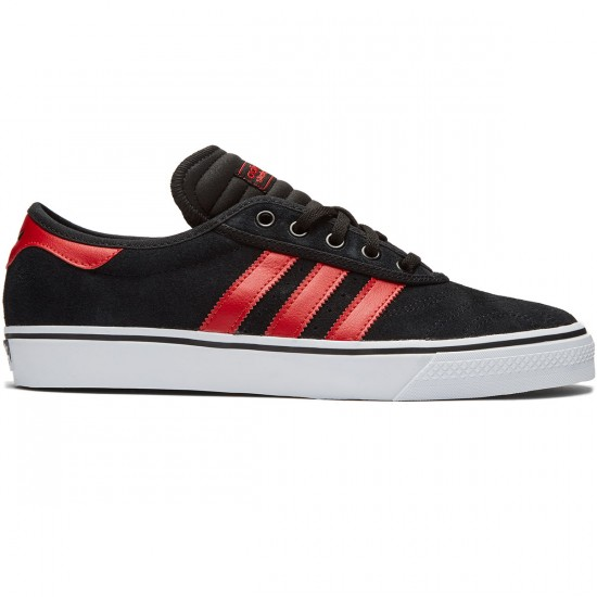 Adidas Adi-Ease Premiere Shoes - Black/Scarlet/White - 8.0