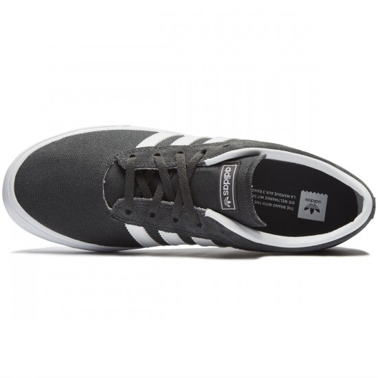 Adidas Sellwood Shoes - Grey/White/Grey - 8.0
