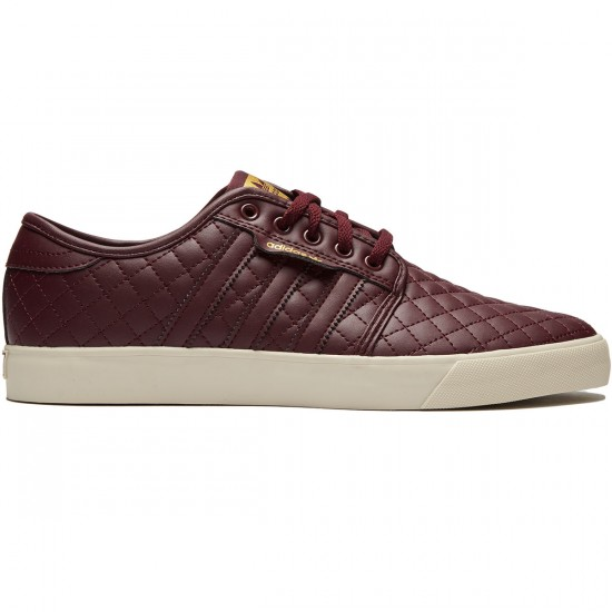 Adidas Seeley Shoes - Maroon/Maroon/Clear Brown - 8.0