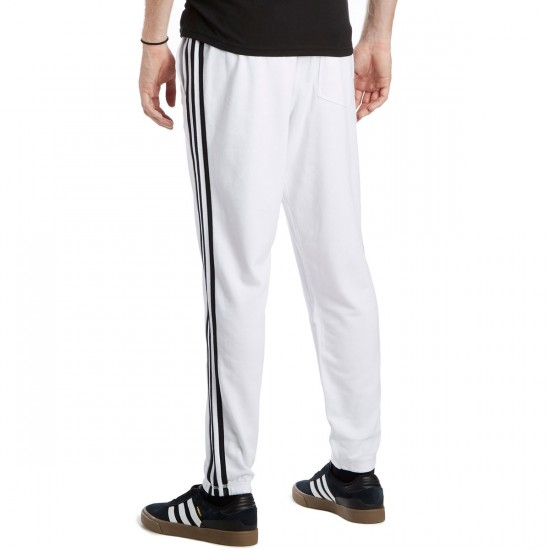 Adidas BB Sweat Pants - White/Black - LG