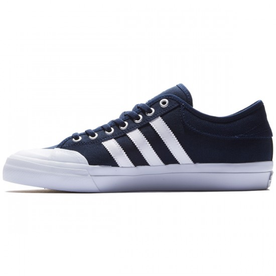 Adidas Matchcourt Shoes - Navy/White/Gum - 8.0