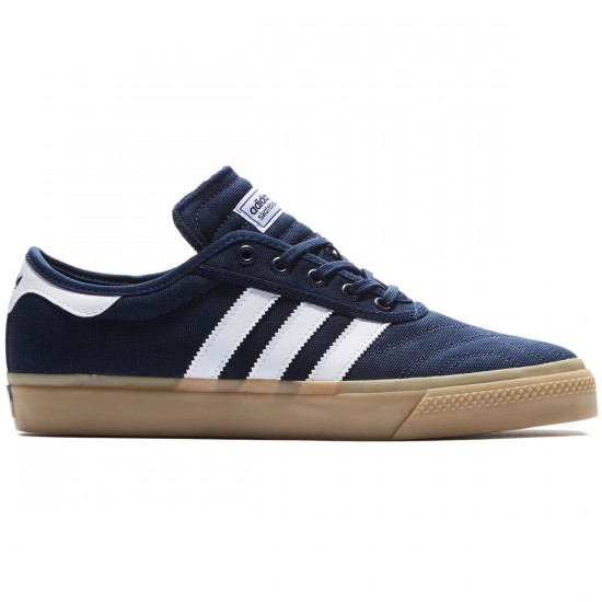 Adidas Adi-Ease Premiere Shoes - Navy/White/Gum - 8.0