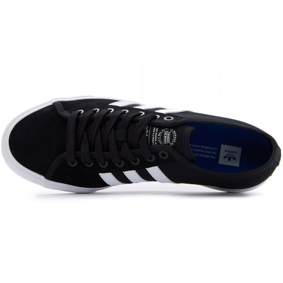 Adidas Matchcourt RX Shoes - Black/White/Black - 7.0