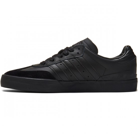 Adidas Busenitz Vulc Samba Edition Shoes - Black/Black/Solid Grey - 7.0