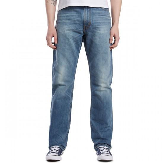 Levi's 504 Regular Straight Jeans - Del Sol - 30 - 32