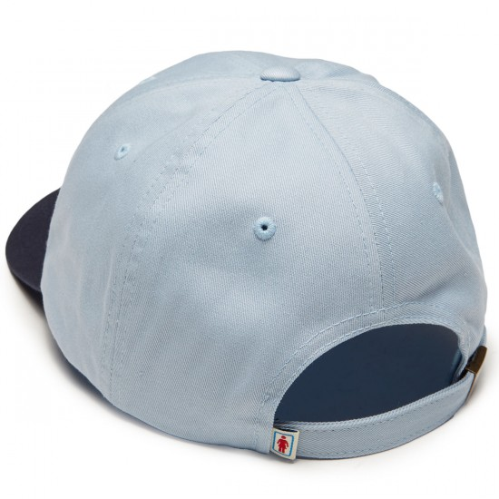 Girl Micro OG Strapback Hat - Light Blue/Navy