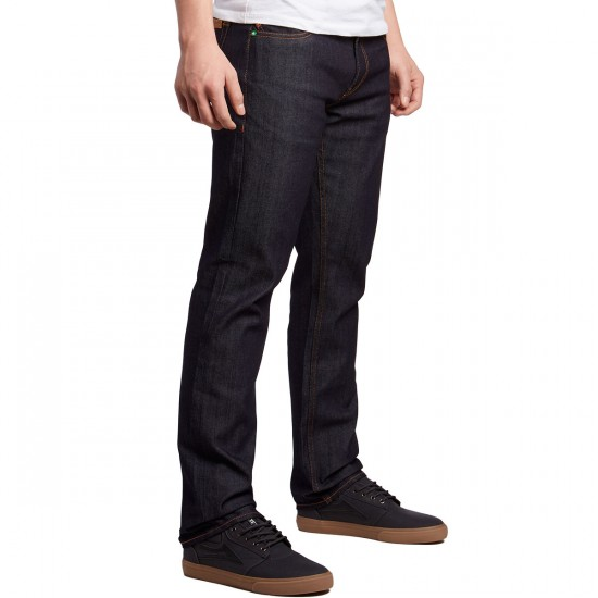 LRG True Taper Fit Jeans - Raw Indigo - 30 - 32