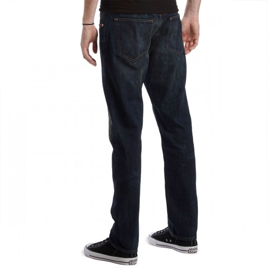 LRG RC True Tapered Fit Jeans - Dark Stained Indigo - 30 - 32