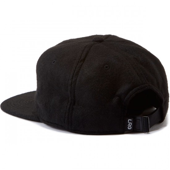 LRG Nature Boys Strapback Hat - Black